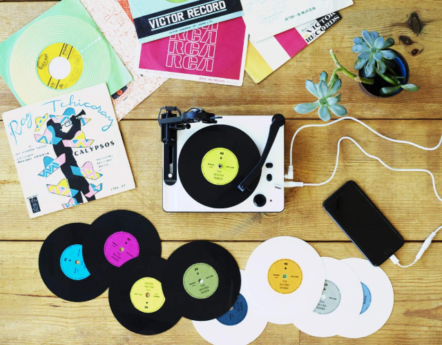 スマホ音源からオリジナルレコードが作れる!「トイ・レコードメーカー|大人の科学マガジン」が面白そう
